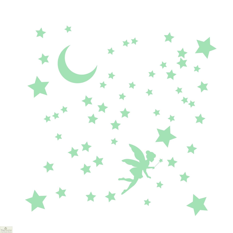Glowing Stars Fairy Wall Sticker