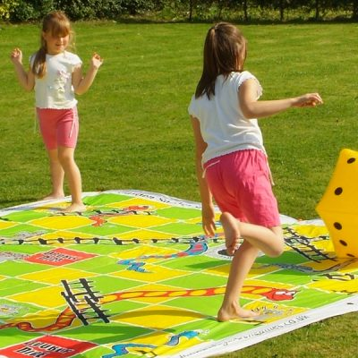 Giant Snakes and Ladders Garden Game_2