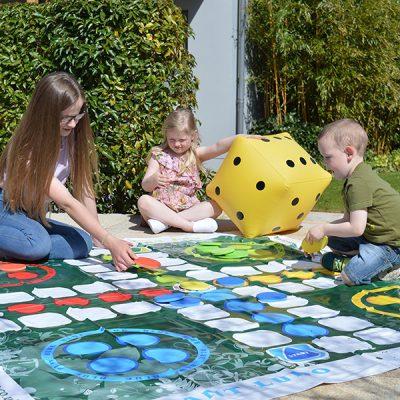 Giant Ludo Garden Game_1