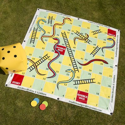Giant Snakes and Ladders Garden Game_3