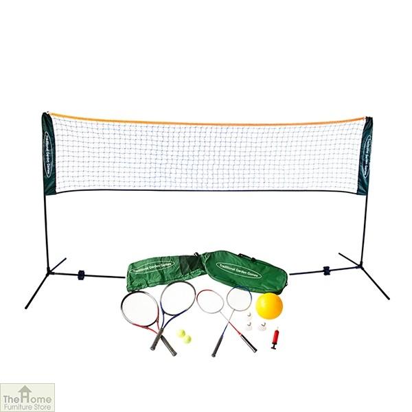 Badminton Tennis Volleyball Playset 3m Net