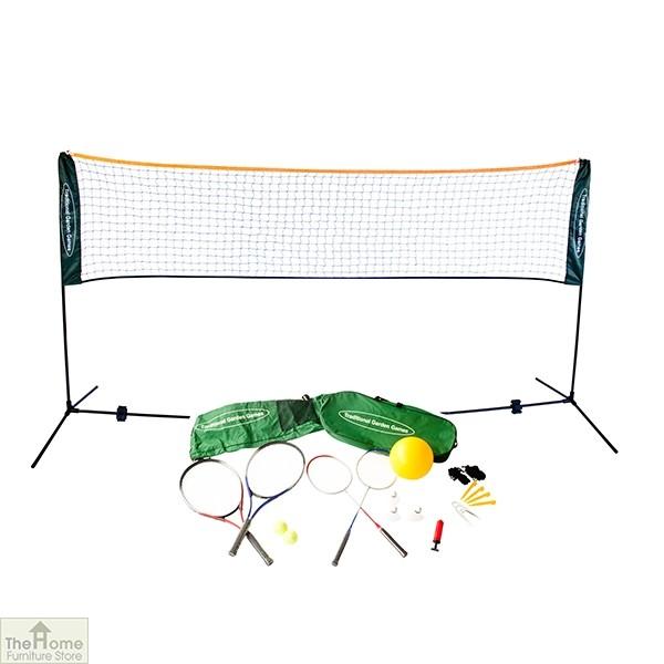 Badminton Tennis Volleyball Playset 5m Net