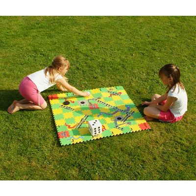 Giant Snakes and Ladders Garden Game_1