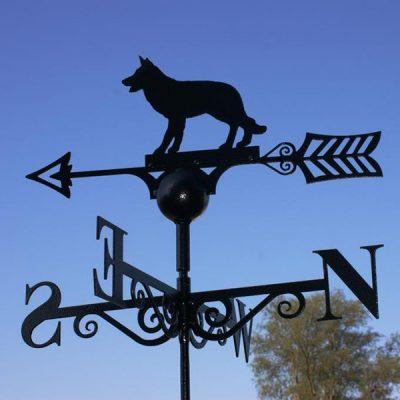 Alsatian Dog Weathervane_2