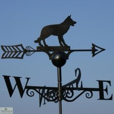 Alsatian Dog Weathervane