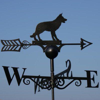 Alsatian Dog Weathervane_1