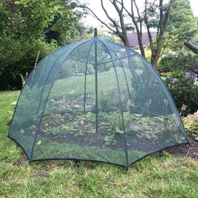 Pop Up Mesh Plant Protection Umbrella_5
