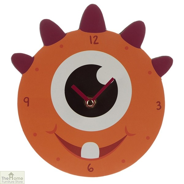 Monster Orange Wall Clock