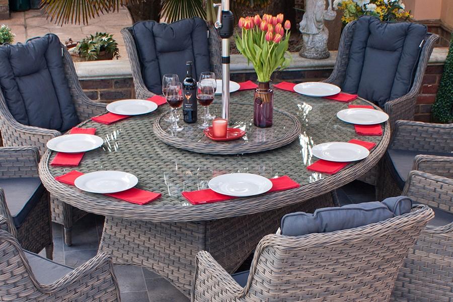 8 Seater Dining Set