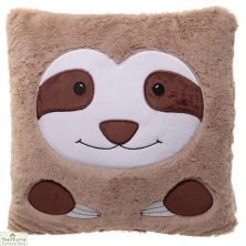 Sloth Plush Square Cushion