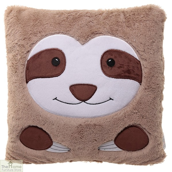 Sloth Plush Square Cushion