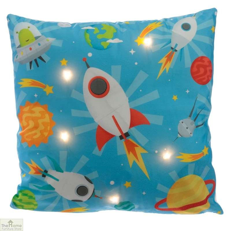 Retro Space Cadet LED Cushion