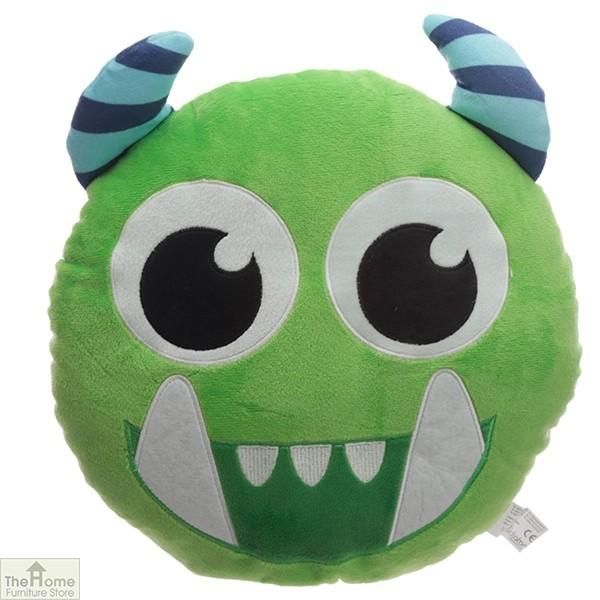 Green Monster Plush Cushion