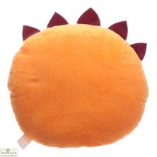 Orange Monster Plush Cushion