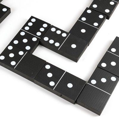 Jumbo Black and White Dominoes_5