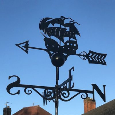 Galleon Ship Weathervane_1