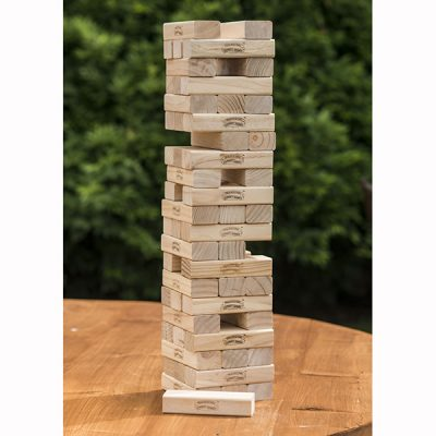Giant Garden Wooden Tumbling Blocks_2