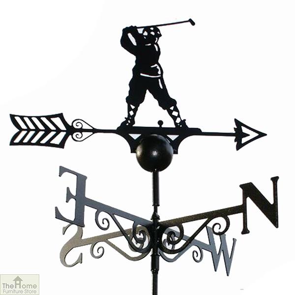 Golfer Weathervane