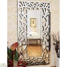 Venetian All Glass Wall Mirror 150 x 75cm