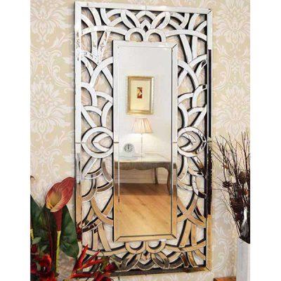 Venetian All Glass Wall Mirror_1