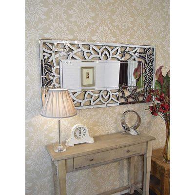 Venetian All Glass Wall Mirror_3