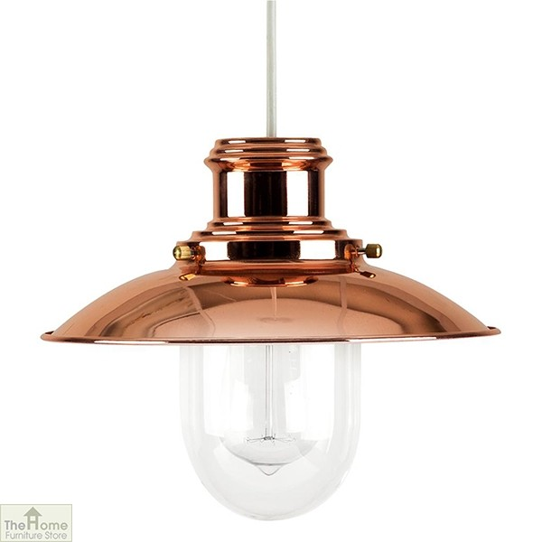 Fishermans Copper Ceiling Light