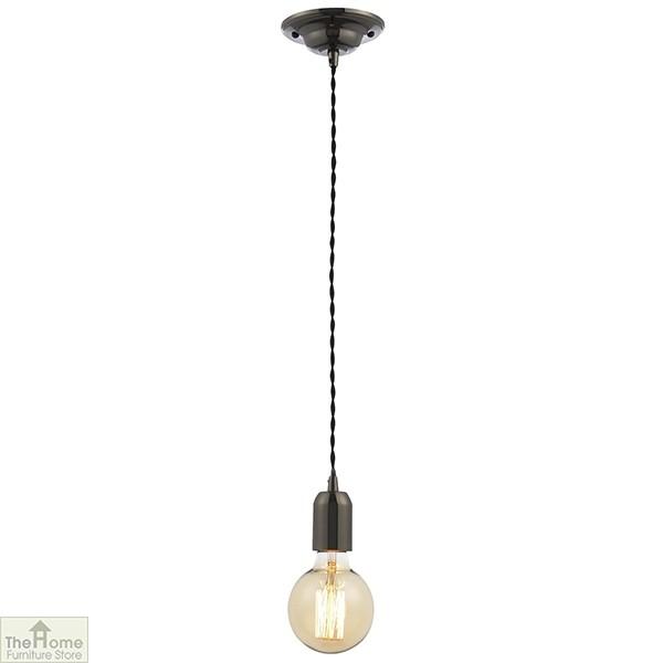 Black Pendant Light Cable Set