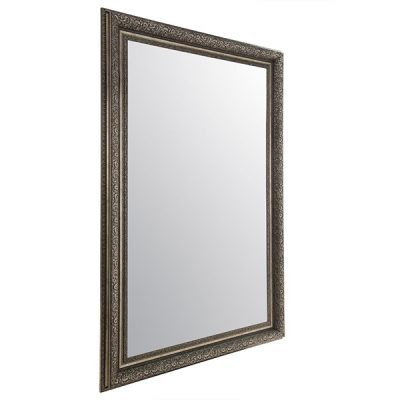 Large Antique Silver Mirror_5