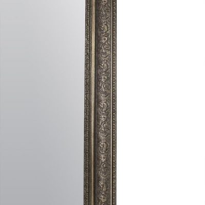 Large Antique Silver Mirror_6