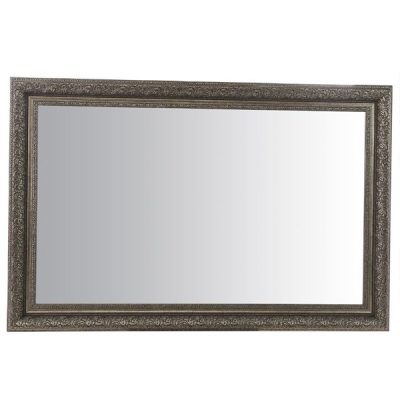 Large Antique Silver Mirror_4