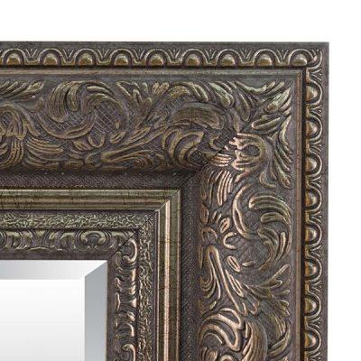 Medium Antique Silver Mirror_11