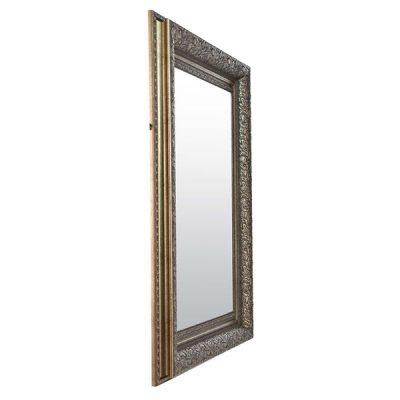 Medium Antique Silver Mirror_7