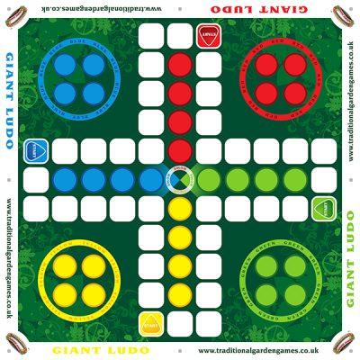 Giant Ludo Garden Game_3