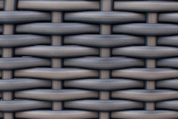 Grey Rattan Weave