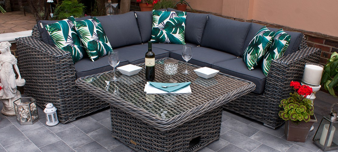 Miami Lounge Corner Dining Set
