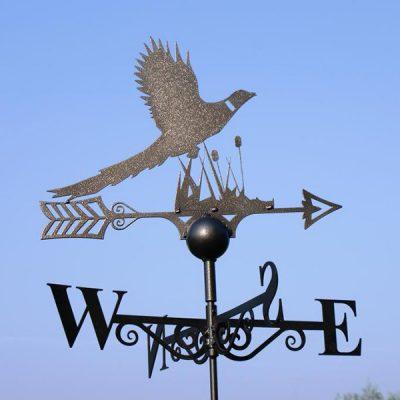 Pheasant Weathervane_3