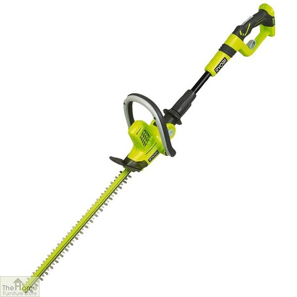 50cm Cordless Long Reach Green Hedge Trimmer