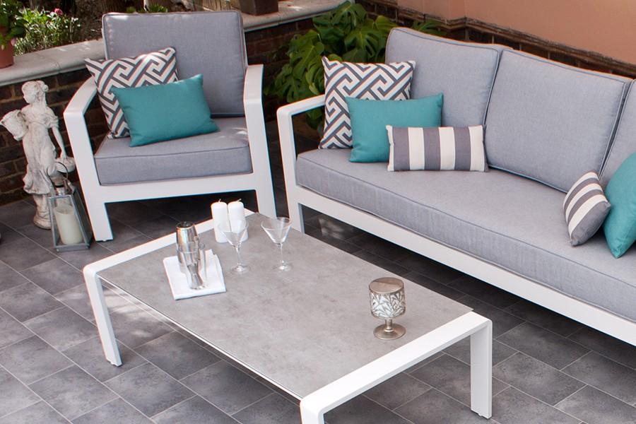 Aluminium Sofa Set