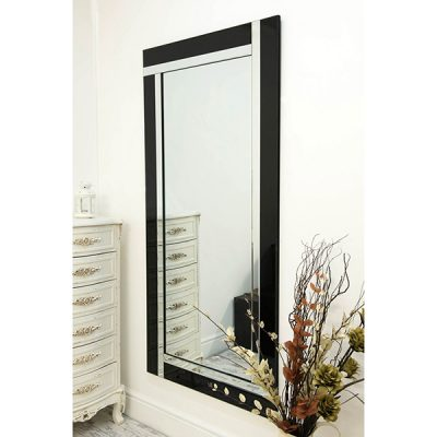 Black All Glass Mirror_2