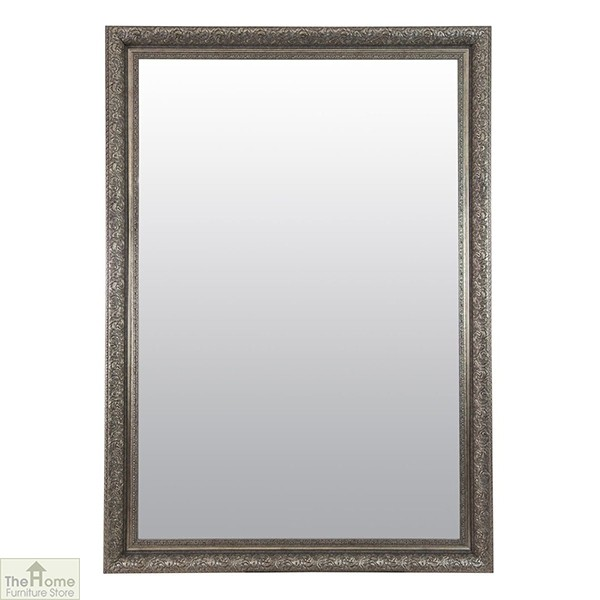 Extra Large Antique Silver Mirror
