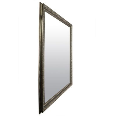 Extra Large Antique Silver Mirror_9