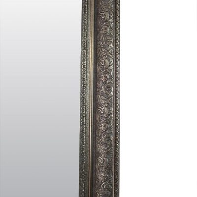 Extra Large Antique Silver Mirror_10