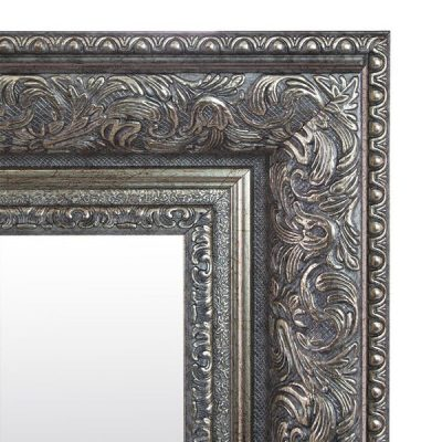 Extra Large Antique Silver Mirror_11