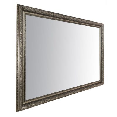 Extra Large Antique Silver Mirror_7