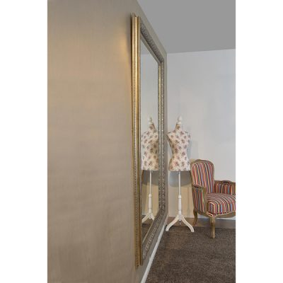 Extra Large Antique Silver Mirror_4