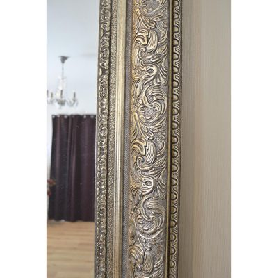 Extra Large Antique Silver Mirror_5